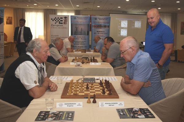 Freundschaftsspiel der Senioren von Russland und Maribor