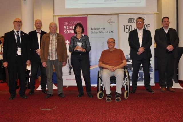 Die Sieger der 31. Deutschen Senioren Einzelmeisterschaft stehen fest
