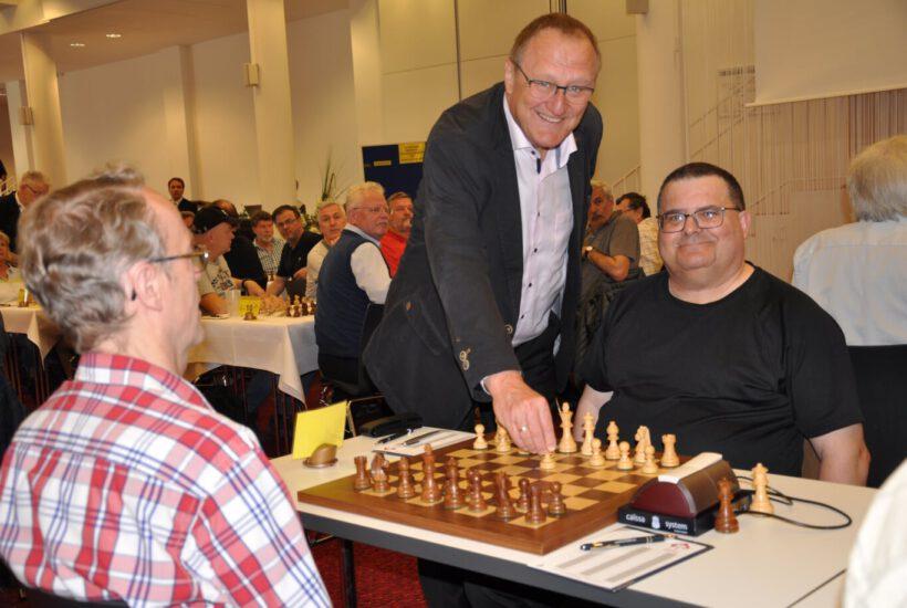 31. Deutsche Senioren Einzelmeisterschaft hat begonnen