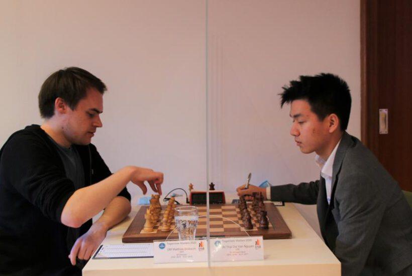 Die besten Chancen auf den Turniersieg hat Alexander Donchenko