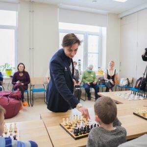 Daniil Dubov gibt Meisterkurs im Lighthouse Children's Hospice
