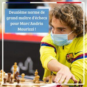 Barcelona: Sieg für Matthieu Cornette, Großmeister-Norm für Marc'Andria Maurizzi