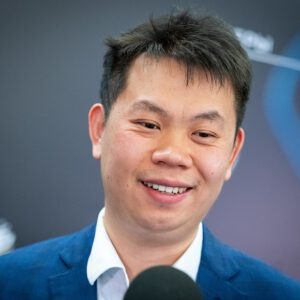 Person des Tages: GM Wang Hao