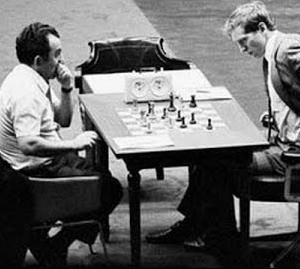 Bobby Fischer und sein Drehstuhl