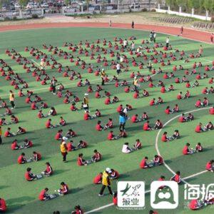 Shenzhen Road Primary School inszeniert beeindruckende Schachszene