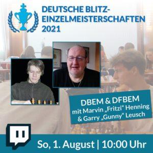 Deutschen Blitz-Einzelmeisterschaften der Männer und Frauen