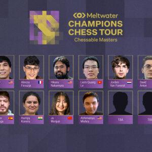 Chessable Masters mit Ju Wenjun und Abhimanyu Mishra