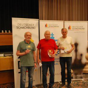 Deutsche Senioren – Schnellschachmeisterschaft 2021  in Magdeburg