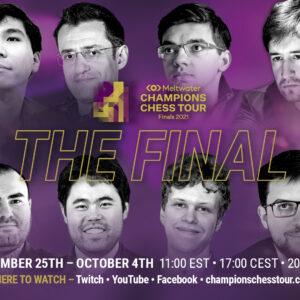 Der letzte Countdown: Die Weltelite des Schachs kämpft um 300.000 Dollar und den Titel des besten Online-Spielers der Welt