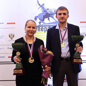 Nikita Vitiugov und Valentina Gunina sind die neuen Meister von Russland